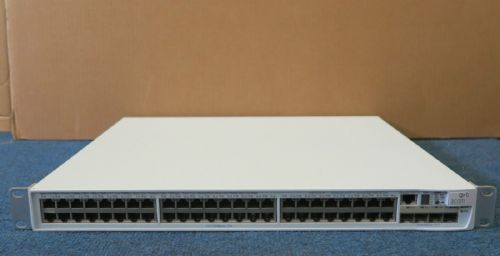 3Com 4500 3CR17572-91 PWR 50 Port PoE Managed Fast Ethernet Network Switch